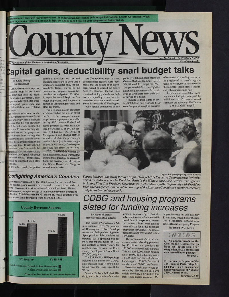 County News - 9/24/1990 | NACo