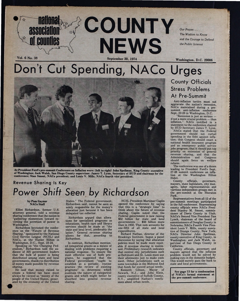 County News 9/30/1974   NACo