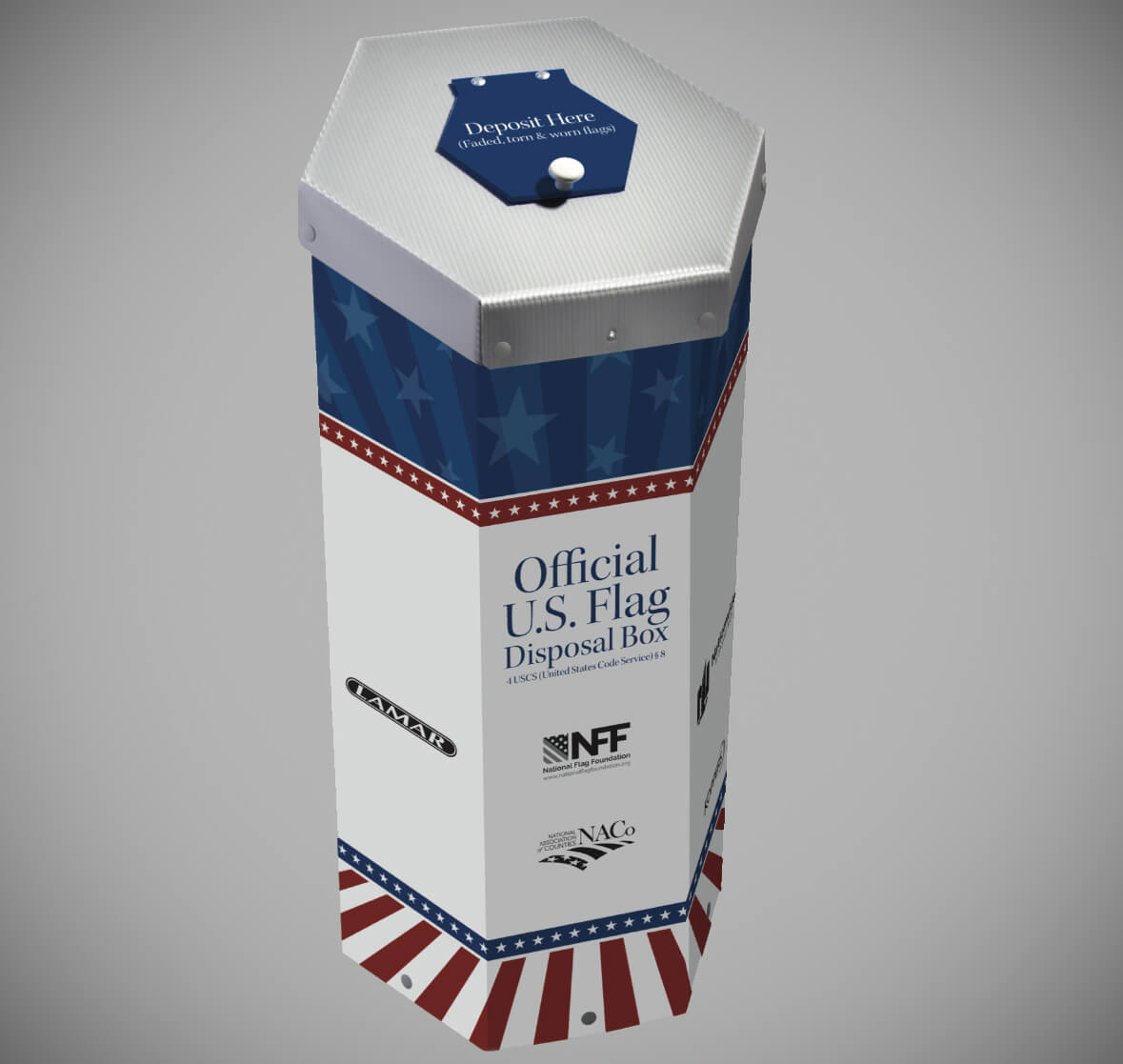 naco flag box
