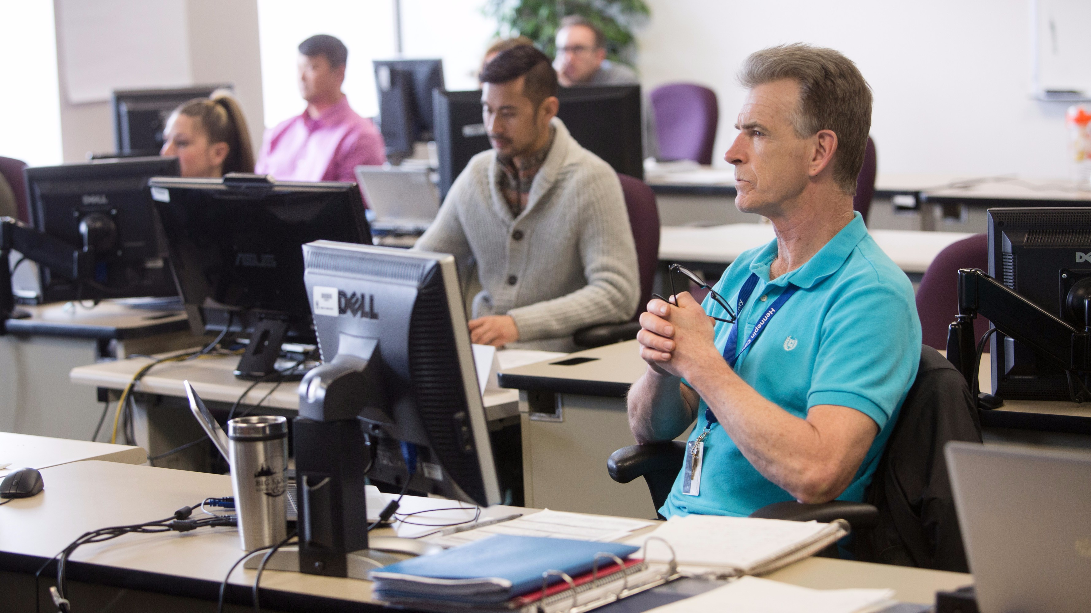 """Participants in Hennepin County, Minn.'s Career Connections program learn the """"hard"""" and """"soft"""" skills needed to prepare them for county jobs. Photo courtesy of Hennepin County, Minn."""