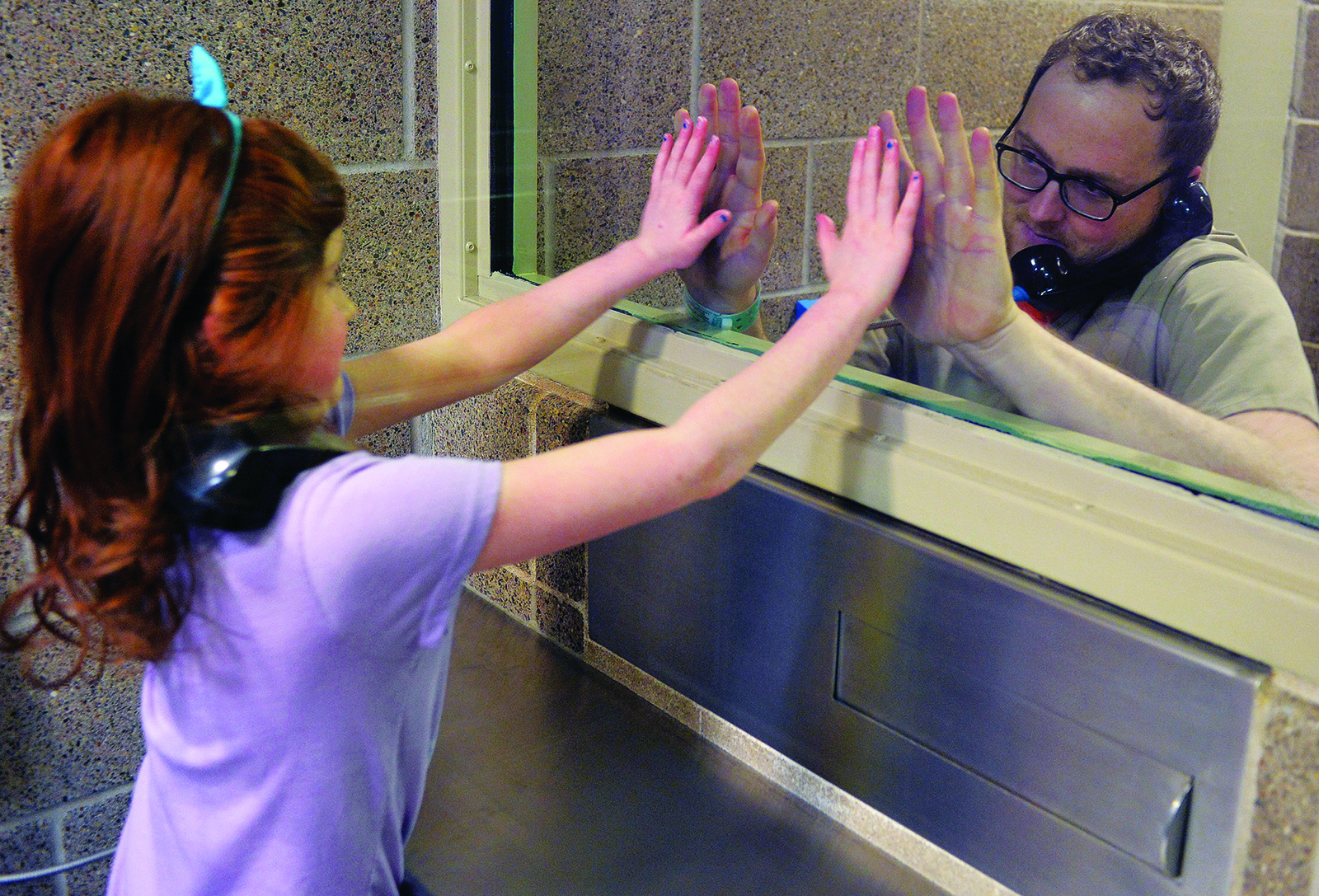 County Makes Visiting Jail 'Kid Friendly' for Children of