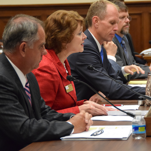 NACo President Sallie Clark testifies before the House Subcommittee on Economic Development, Public Buildings and Emergency Management