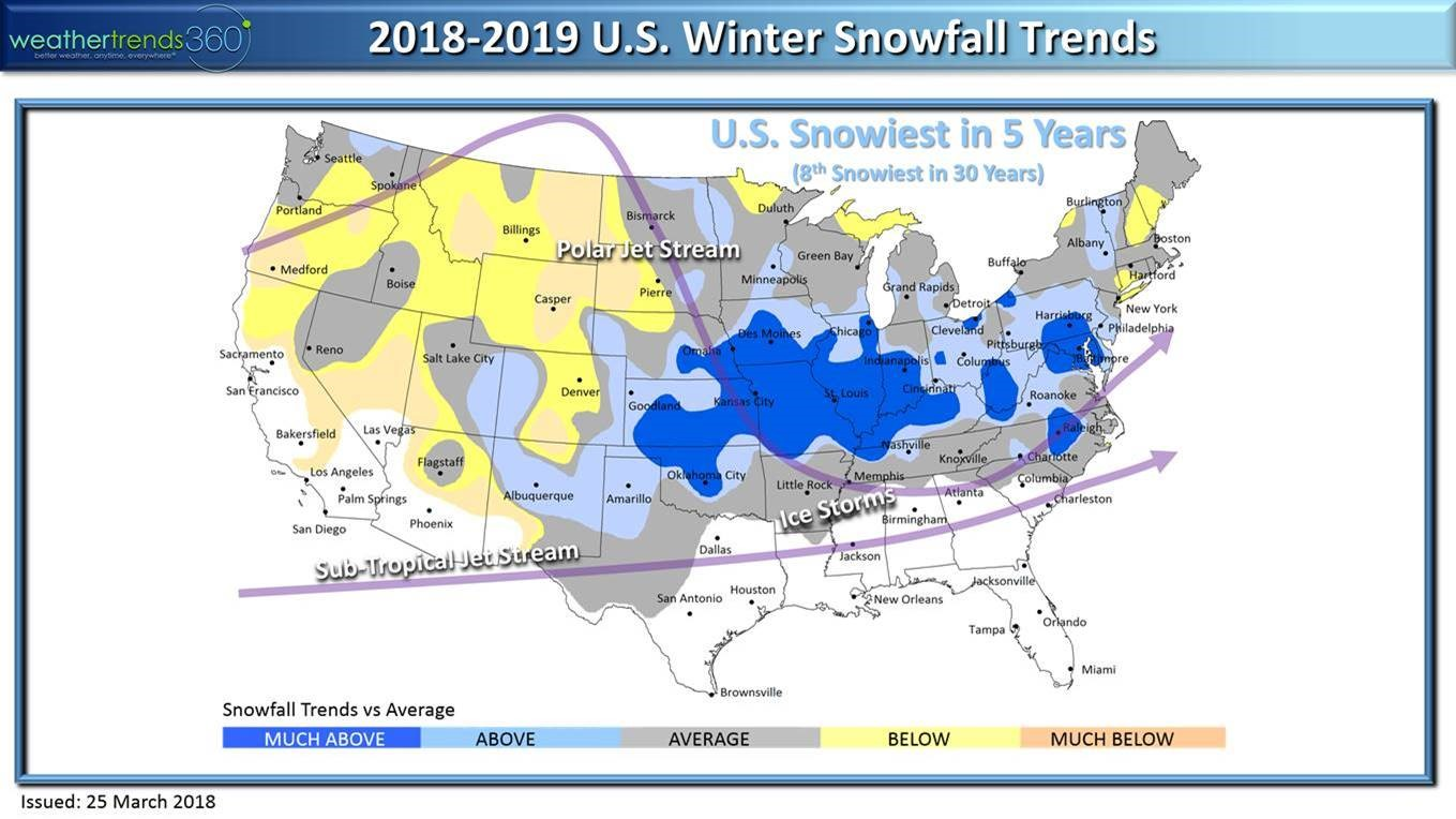 Weather Trends International Predictions for 2019 | NACo